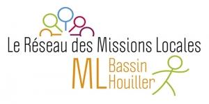 Logo de la mission locale du Bassin Houiller