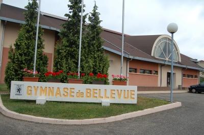 Le gymnase de Bellevue à Forbach