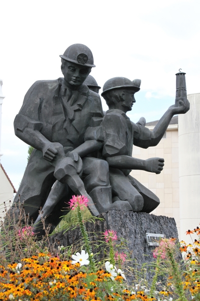 Memorial aux mineurs à Forbach