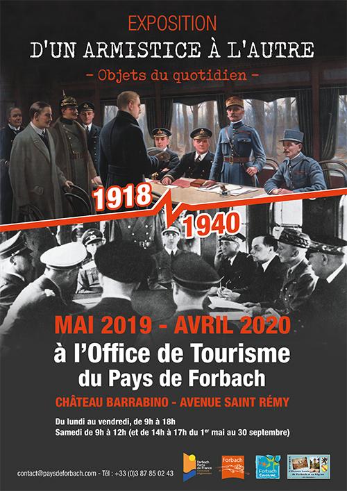 """Exposition """"D'un armistice à l'autre"""""""