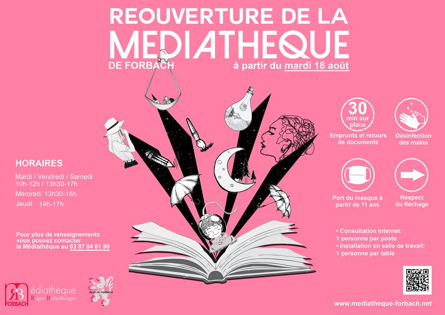 affiche médiathèque