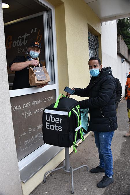 uber eat goutB